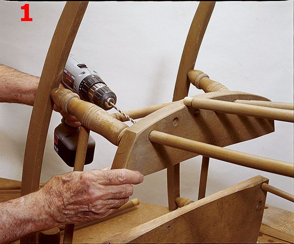 How To Restore An Old Wooden Rocking Chair  - PopularMechanics.com