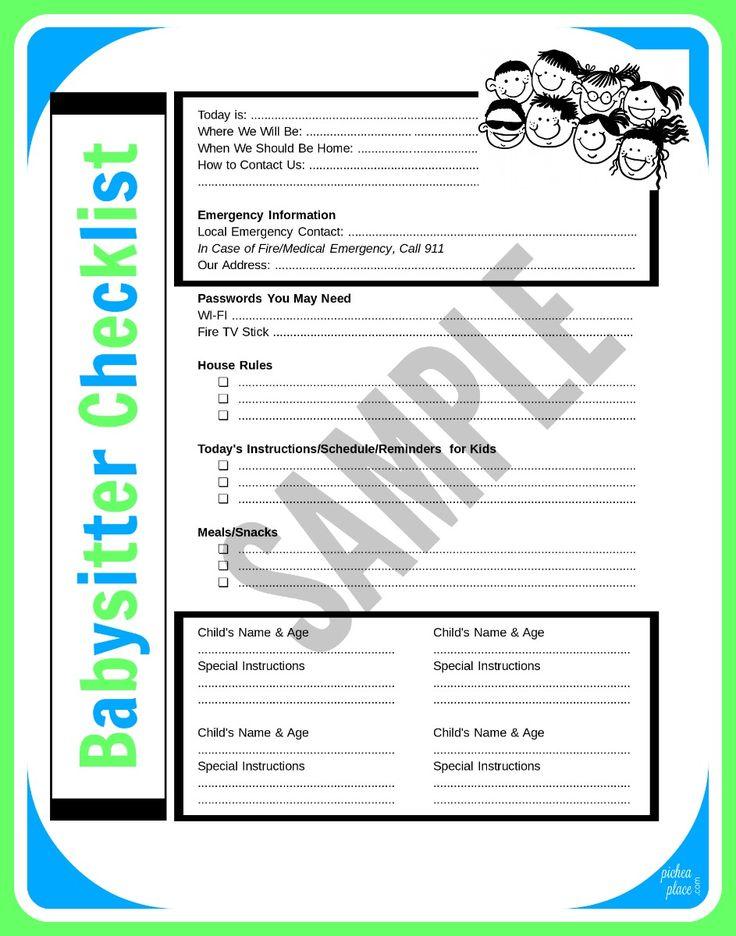 Pinterestu0027te 25u0027den Fazla En Iyi Çocuk Bakıcısı Listesi Fikri   Address  List Template  Address List Template