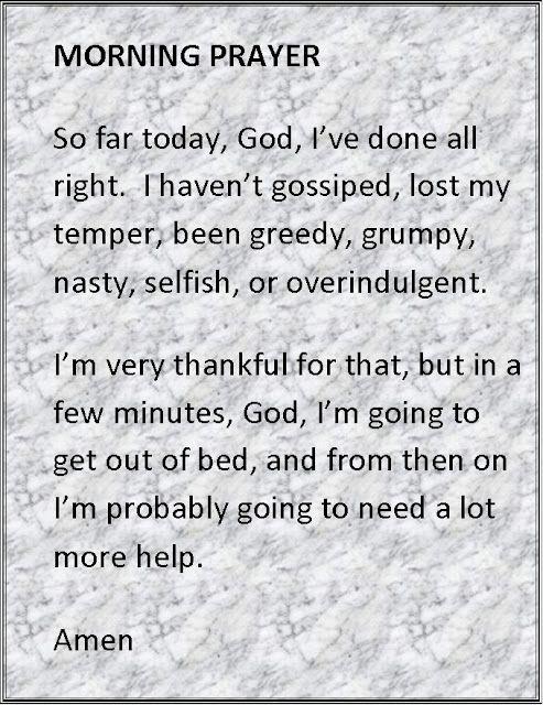 Morning prayer.(: