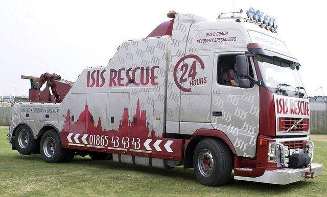 ЭВАКУАТОР VOLVO - FH12 500 (6Х2) GLOBETROTTER XL - ISIS RESCUE   tow trucks   Pinterest   Volvo