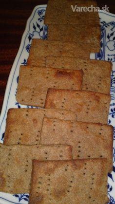 Jemný chrumkavý švédsky chlieb - Knäckebrod (fotorecept)