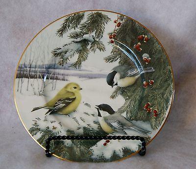 Lenox Winter Greetings Scenic Luncheon Plate