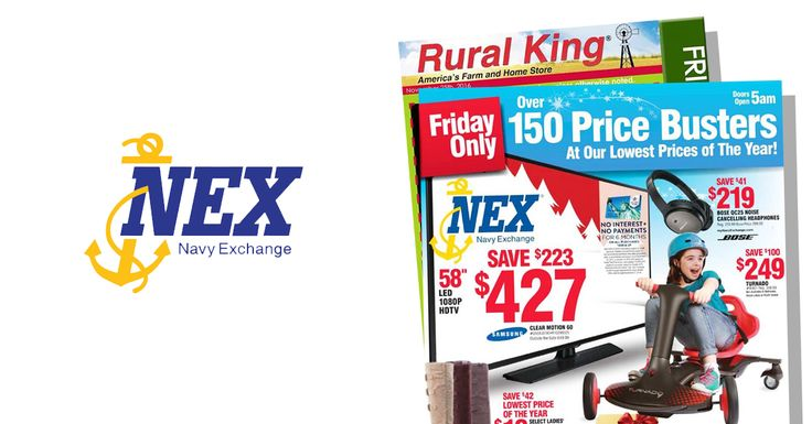 Rural King and Navy Exchange Black Friday 2016 Ads Posted!