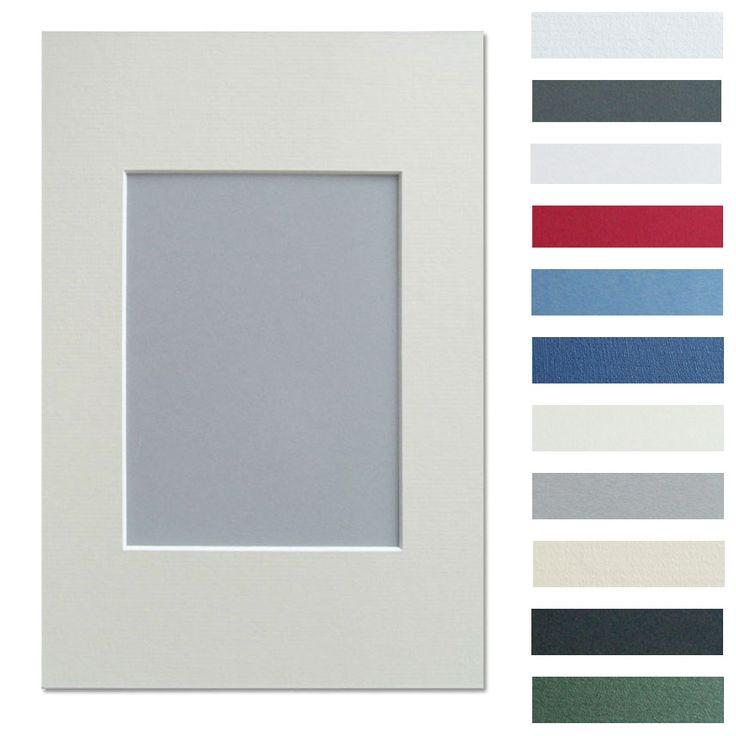 Walther Galerie Passepartout 40x50 (Innen 30x40) - schneeweiß | AllesRahmen.de