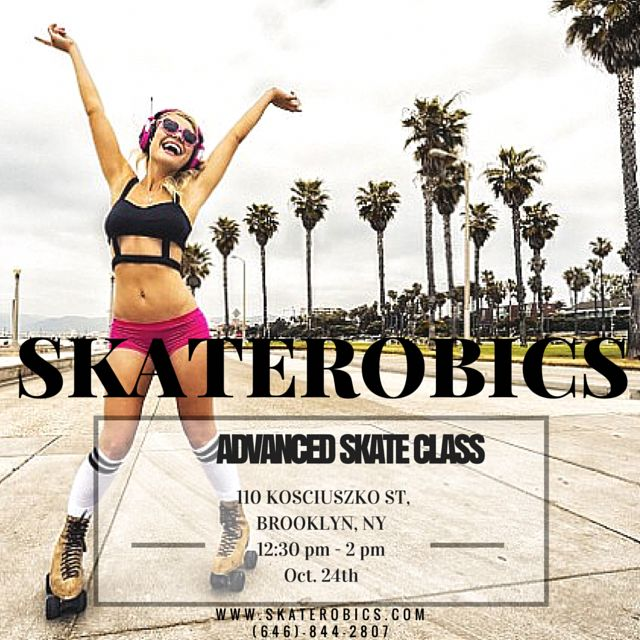 SKATEROBICS: Advanced Roller Skating Dance Class  18+ welcome Pre-requisite: Advanced Skaters Bring Your Own Skates Choreography All Types of Music (Hip Hop, Dance, R&B, & House) Skating Tips & Techniques Call (646)-844-2807  #skaterobics #rollerskating #skatingiscute #skatingisfun #rollerskate #rollerskates #skate #skates #skating #outdoorskating #indoorskating #nyc #ny #newyorkcity #newyork #brooklyn #fitness #health #healthybody #healthymind #fit #workout #exercise #confidence