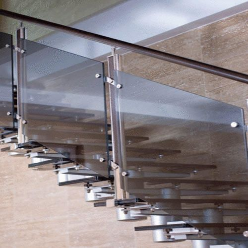 1000 ideas about stainless steel railing on pinterest for Modern glass railing