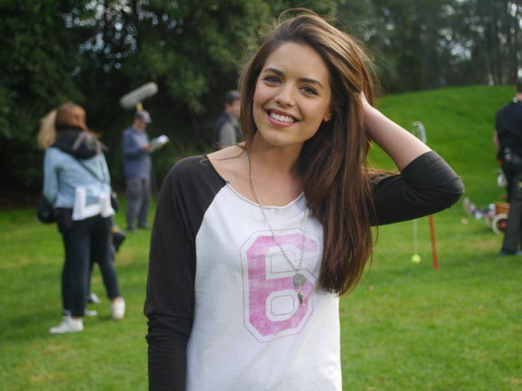 Just a natural Olympia Valance shot. Gorgeous! #BehindTheScenes #Neighbours