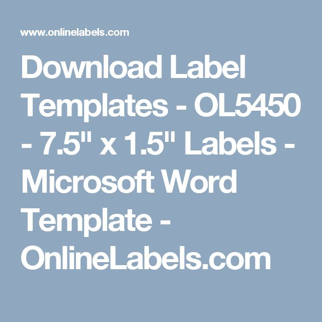 Microsoft Word Templates Labels Job Profile Resume Resume Is The