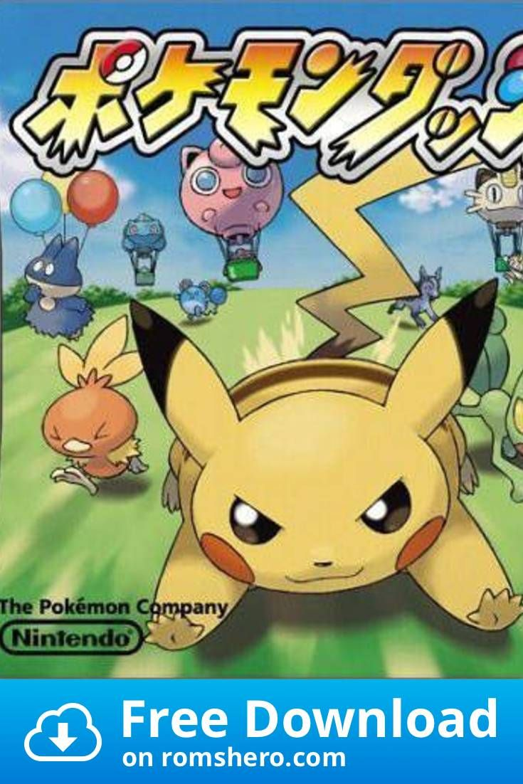 Download Pokemon Dash Nintendo Ds Nds Rom With Images