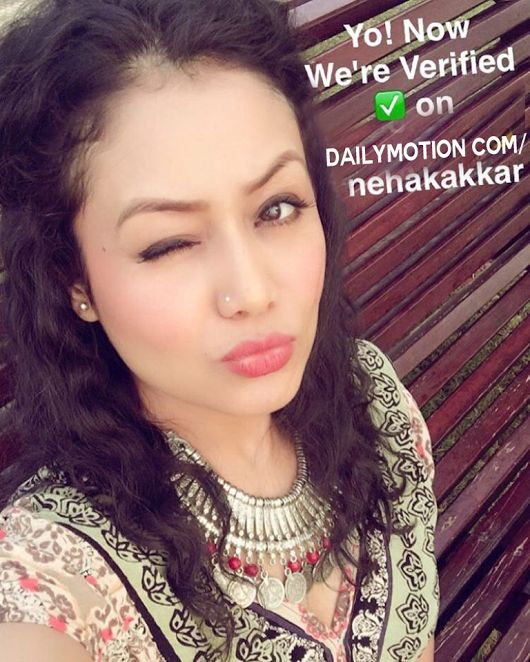 Now Neha Kakkar Verified On : http://www/dailymotion.com/NehaKakkar
