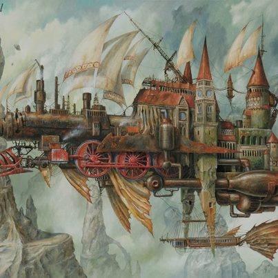 Jarosław Jaśnikowski's Marvelous Steampunk World