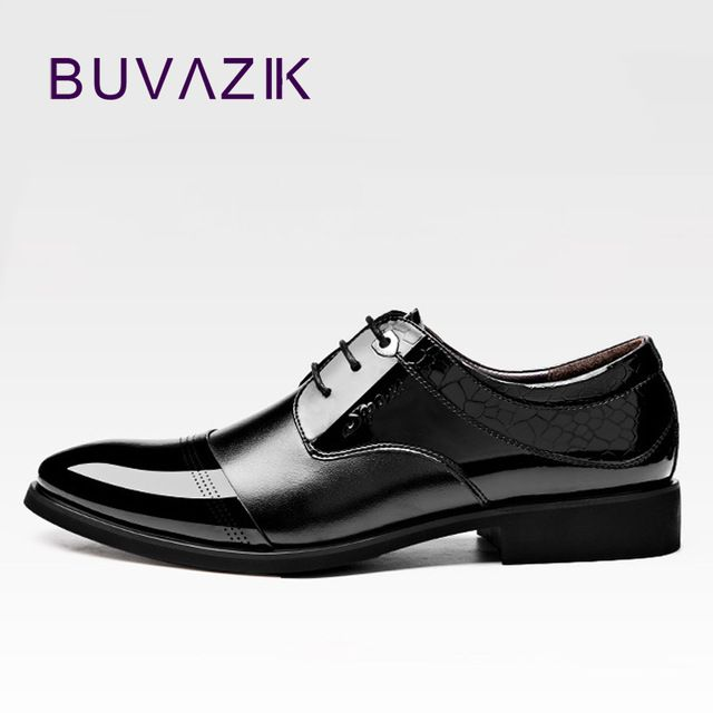 Check it on our site 2017 men's Oxford shoes wirh Genuine Leather dress shoes for Successful man high quality pointed toe shoes black shiny formal  just only $36.90 with free shipping worldwide  #menshoes Plese click on picture to see our special price for you