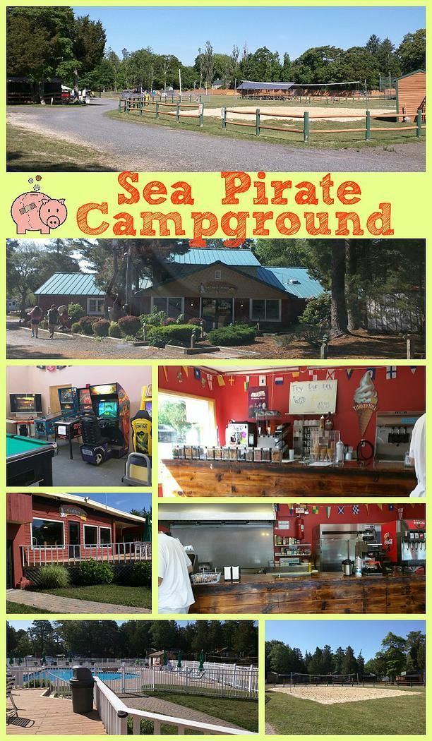 Sea Pirate Campground -- Family Friendly Campground Near Long Island Beach, NJ. This was an awesome retreat for our whole family to stay in while enjoying Tuckerton and Long Beach Island, New Jersey.