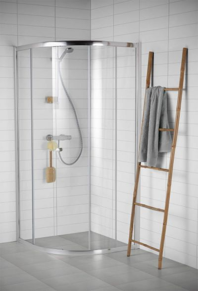 54 best Duschkabinen (Rund) images on Pinterest Bathrooms, Auras - schiebetür für badezimmer