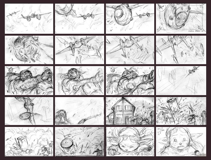 12 Best Hand Drawn Storyboards Images On Pinterest Storyboard   Visual  Storyboard