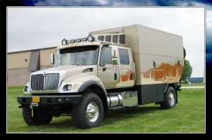 Global exhibition vehicles — extreme RV