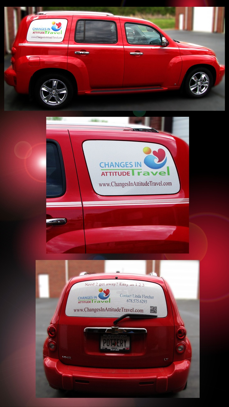 Car Window Graphics For Changes In Attitude Travel By Pinnacle