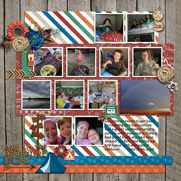 Layout by CTM Mecia using {Outdoor Explore} Digital Scrapbooking Kit by Pixelily Designs http://store.gingerscraps.net/Pixelily-Designs/ #digiscrap #digitalscrapbooking #pixelilydesigns #outdoorexplore