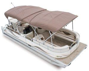 Double Bimini Top For Pontoon Boats Pontoonboats Avalonpontoons