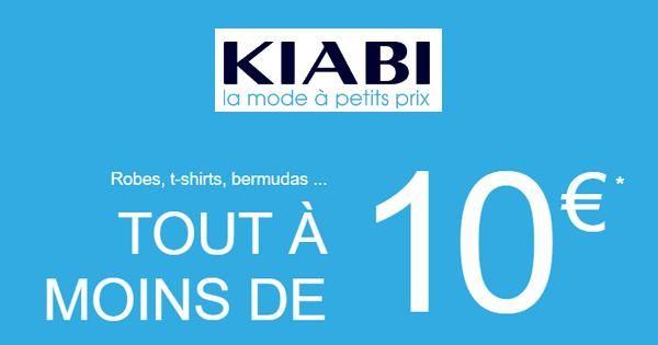 Bon Plan Kiabi : Toute une large Sélection à moins de 10€ - anti-crise.fr