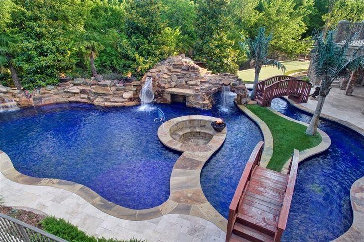 1189 best elaborate pools images on pinterest pool ideas for Elaborate swimming pools