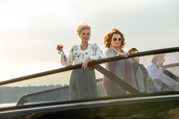 'Absolutely Fabulous' the Movie Takes Edina and Patsy to Familiar Terrain: Old Age - The Atlantic