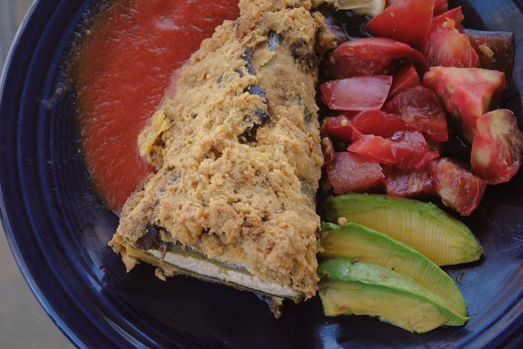 Cashew Cheese Vegan Chile Rellenos