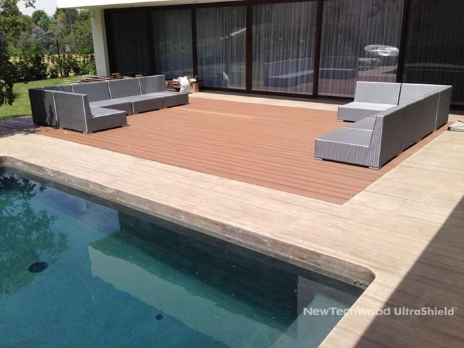 UltraShield Composite Floor In Mexico, Please Visit Www.newtechwood.com For  More Information