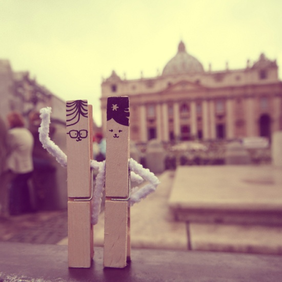 mr.nico tourist pegs visiting the Vatican