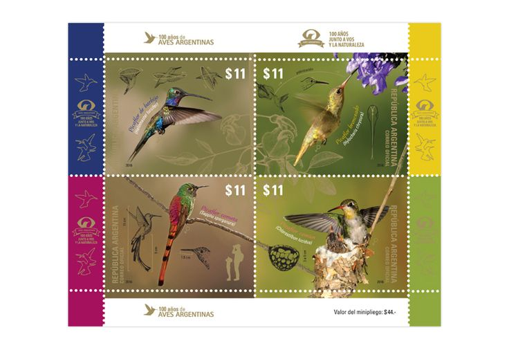 COLLECTORZPEDIA 100 Years of the Aves Argentinas
