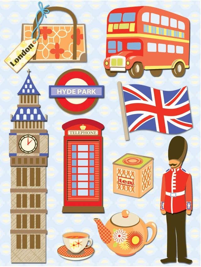 Stickers Londres - Vente en ligne de poster adhsif de Londres
