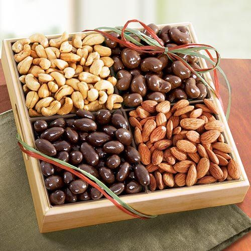 TOPSELLER! Savory and Chocolate Nuts Gift Tray $29.95