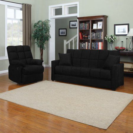 Baja convert a couch sofa bed with recliner multiple for Baja convert a couch sofa bed with set of 2 recliners