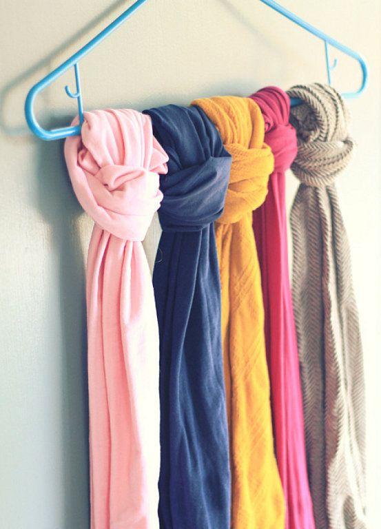 Trucos de moda : 1. Formas originales y económicas de ordenar tu ropa | Decorar tu casa es facilisimo.com