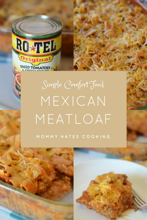Mexican Meatloaf with @roteltomatoes via @walmart #31daysofrotel #ad