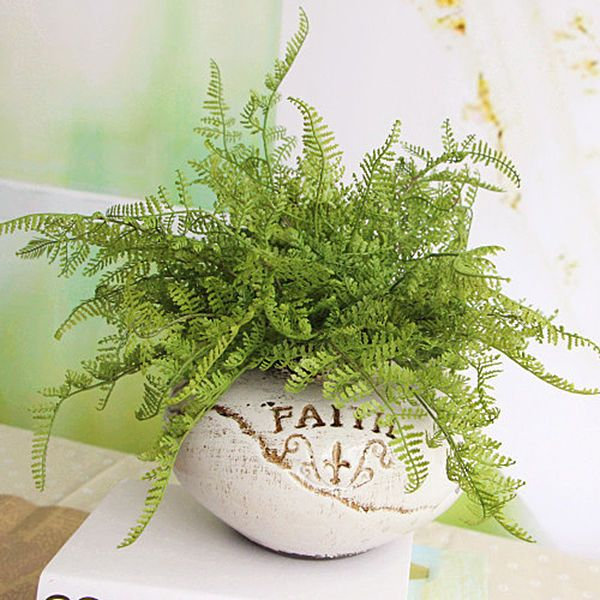beauty fern fake plant artificial floral foliage home party decoration
