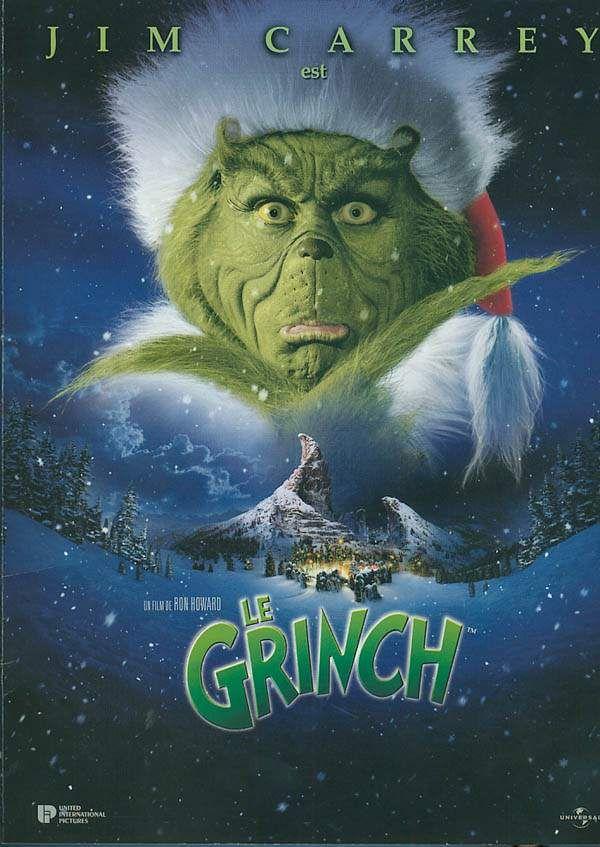 Le Grinch est un film de Ron Howard avec Jim Carrey, Taylor Momsen. Synopsis : Le Grinch est un croque-mitaine de poils verts qui arbore un sourire élastique jusqu'aux oreilles. Misanthrope exilé, il vit depuis 53 ans dans une
