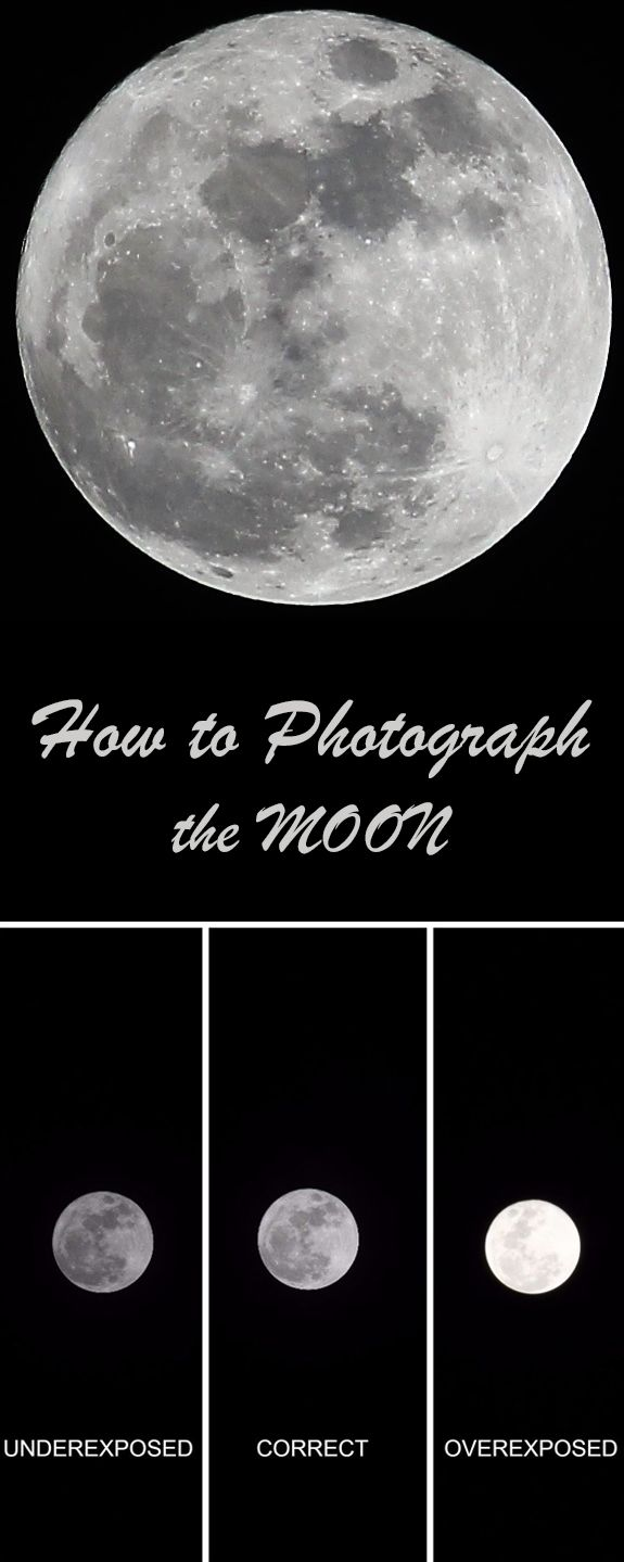 The moon is the most beautiful object in the night sky! This is a simple guide t… – Instructables