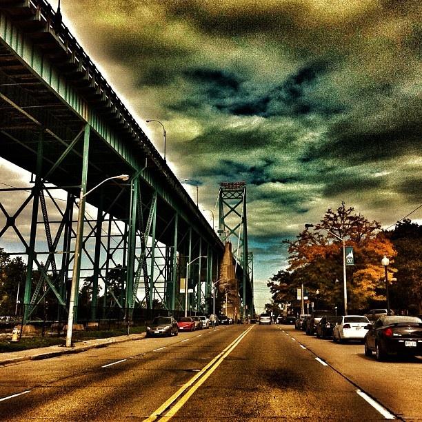 Ambassador Bridge, Windsor, Ontario, Canada