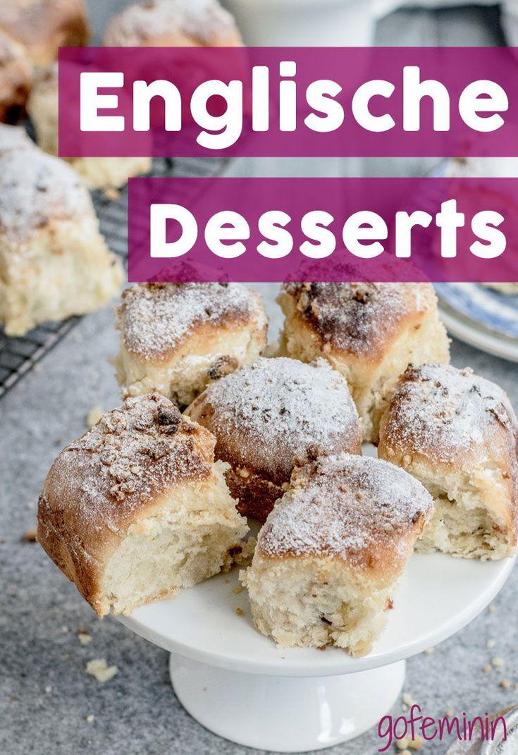Englische Desserts selber machen: So einfach und schnell zaubert ihr einen super leckeren und außergewöhnlichen Nachtisch! #englischedesserts #desserts #englischernachtisch #carrotcake #honigscones #crumble
