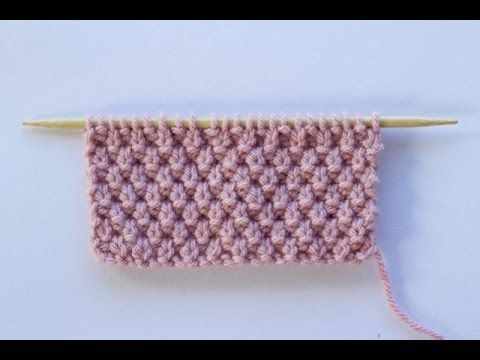This video shows how to work the Moss Stitch. Here are the instructions to work the pattern: Cast on an uneven number of stitches. An uneven number makes thi...