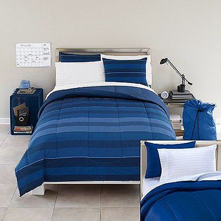 Whitby Twin Extra Long Dorm Bedding Set by TwinXL.com. $112.99. Twin XL Bedding Set. 1 Reversible Twin XL Comforter 63 in. x 92 in.. Twin XL. 1 Twin XL Sheet Set (flat sheet, fitted sheet, pillowcase). 11 Pieces. The Ellie 11 piece twin XL bedding set includes a comforter, sham, sheet set, 3 washcloths, drawstring laundry bag, dry erase calendar, and storage crate.  The reversible twin XL comforter measuring 92 inches long. 100% cotton twin XL sheet set includes flat top...