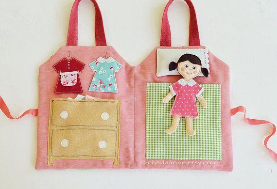 casa de muñecas y mini muñecas pdf por charlaanne en Etsy