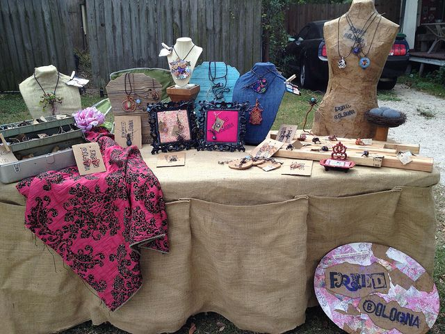 103 Best Images About Craft Show Table Cover On Pinterest