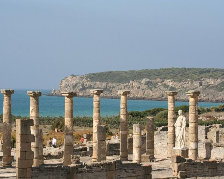 Baelo Claudia, ruinas romanas en la playa de Bolonia, Cádiz, Andalucía SPAIN