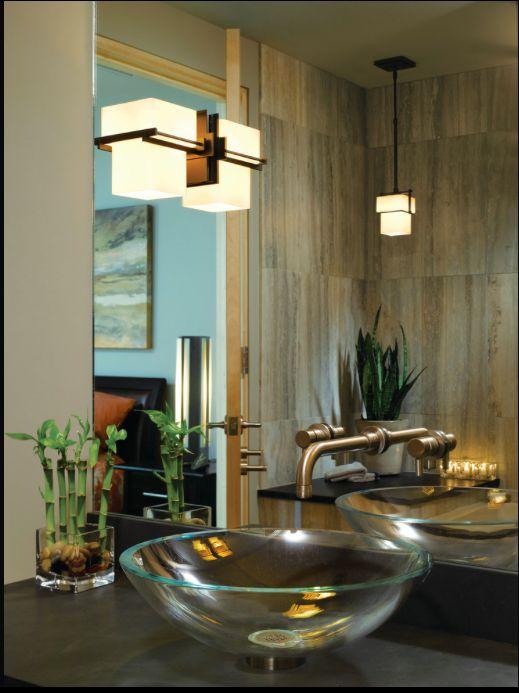 Hubbardton Forge Bathroom Lighting Part - 37: Kakomi 3 Light Bathroom Vanity Light By Hubbardton Forge