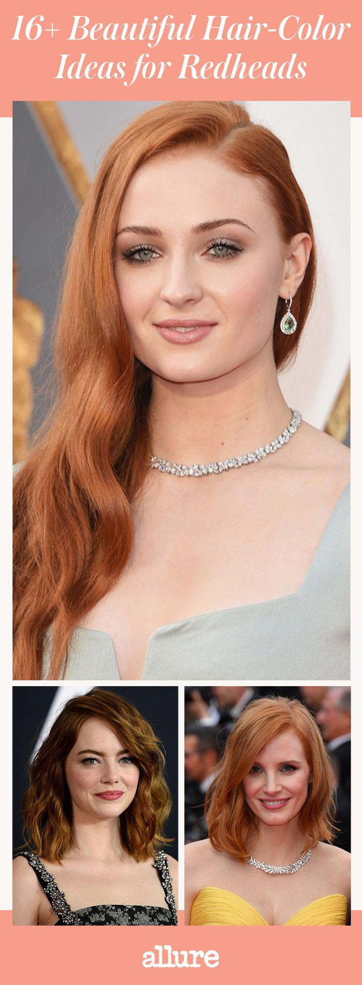 """""""Red is having its moment right now,"""" says colorist Christopher Pierce of the Andy Lecompte Salon in Los Angeles. Find out who wears it best, plus get tips on how to find (and maintain) your perfect shade."""