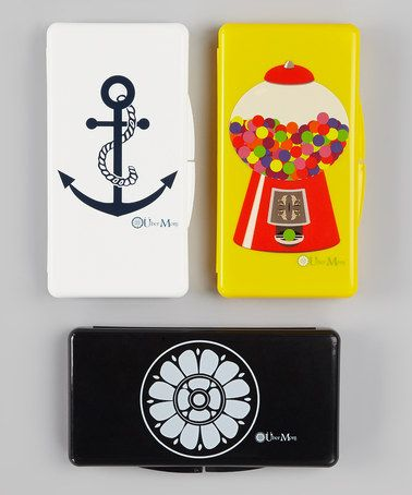 Take a look at this Gumball, Anchor & Rosette Wipe Box Set by Über Mom on #zulily today!