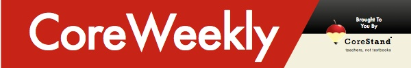 CoreWeekly--free subscription. Weekly templates--Common Core.
