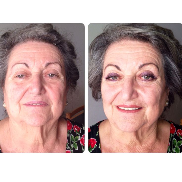 Before and after on my granny